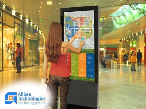 Реклама на торговый киоск