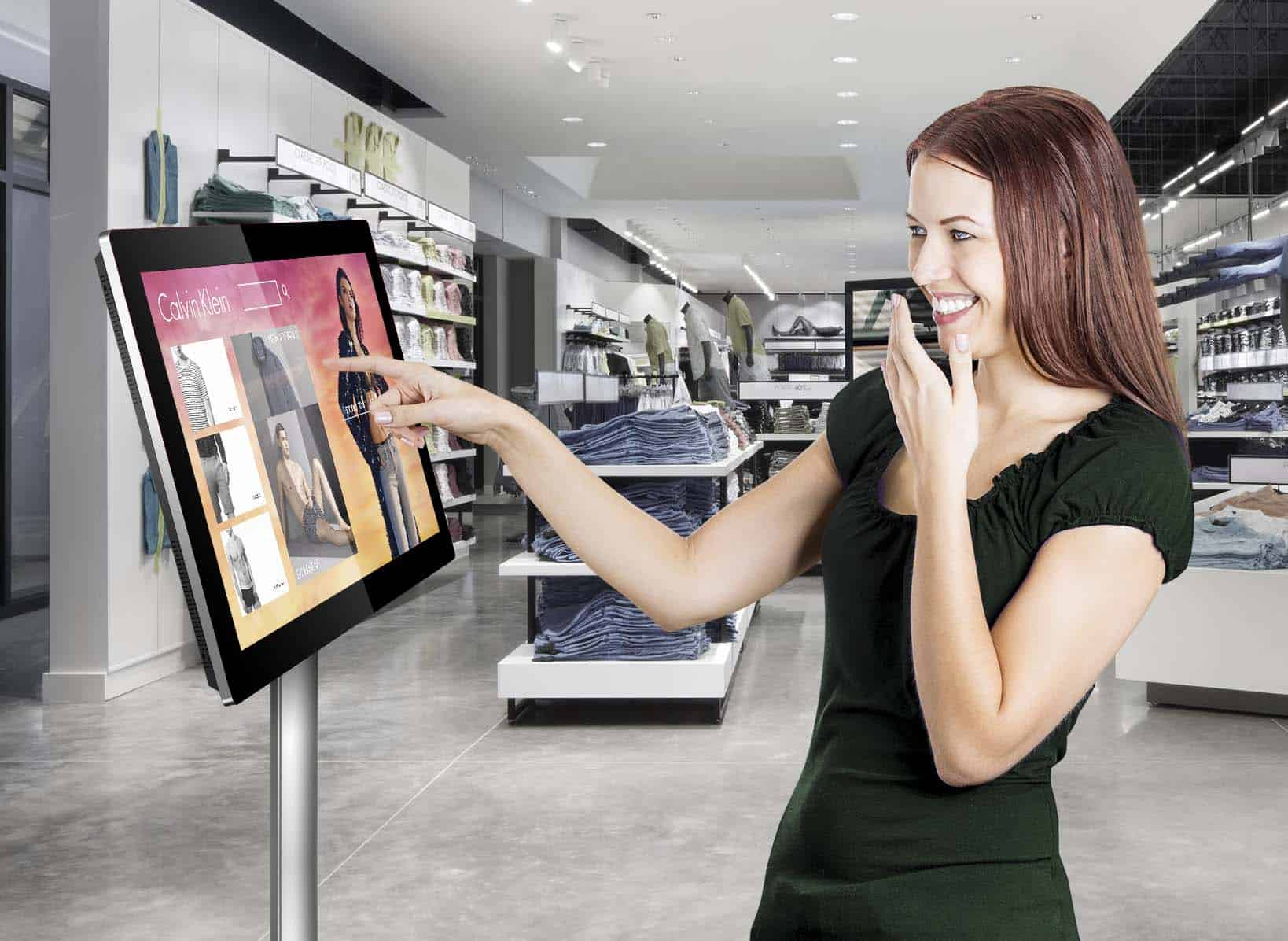 How To Effectively Use A Touch Screen In Retail Digital