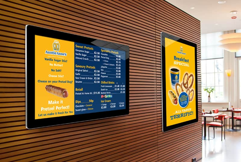 Android digital signage