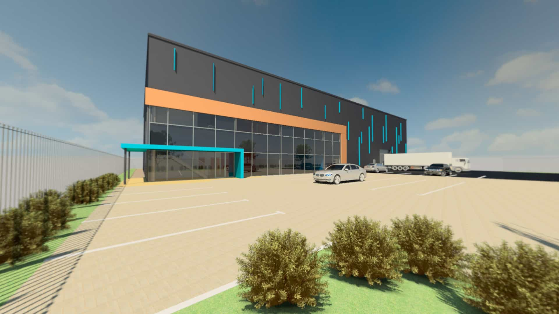 Allsee announces construction of New Warehouse and Office