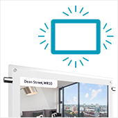 LED frame icon