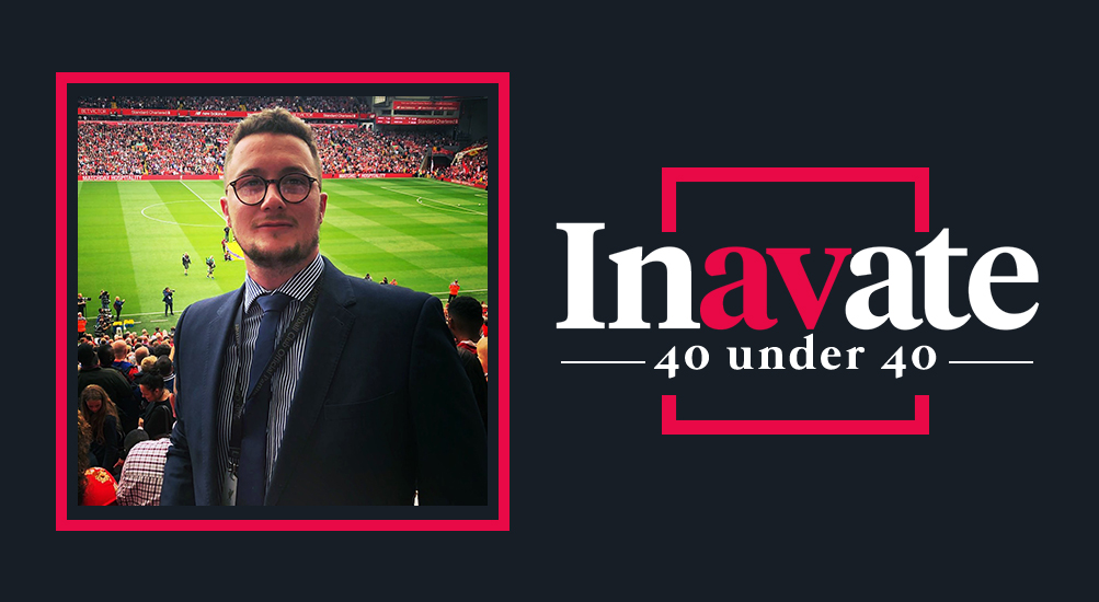 Inavate 40 Under 40 award - Matthew Scott, Allsee Technologies