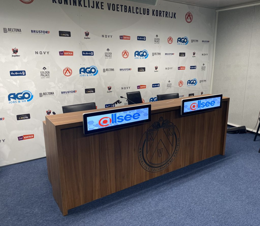 Ultra Wide Stretched Displays at KVK Football Stadium