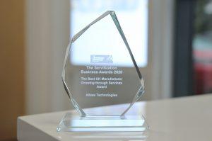 Best UK Manufacturer Growing Through Services Award