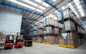 Allsee's Huge Digital Signage Warehouse