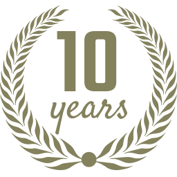 Ten Year Anniversary Logo
