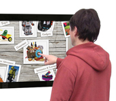 digital signage menu thumb