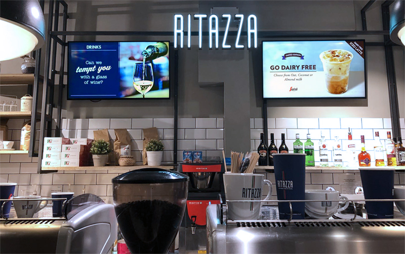 Food and Drink Digital Signage Solutions