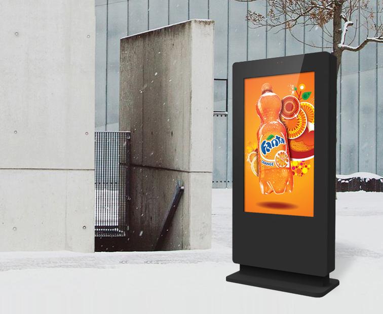 Outdoor Freestanding Digital Posters 49 Quot Amp 55 Quot