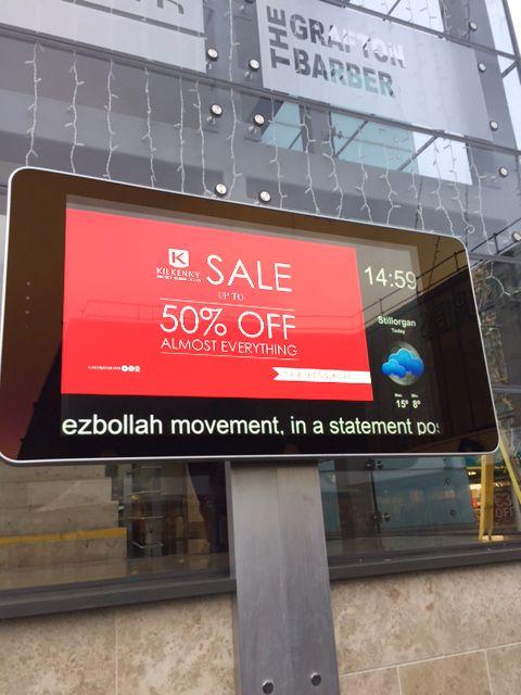 Outdoor Digital Signage Advertising Displays 22 Quot 65 Quot