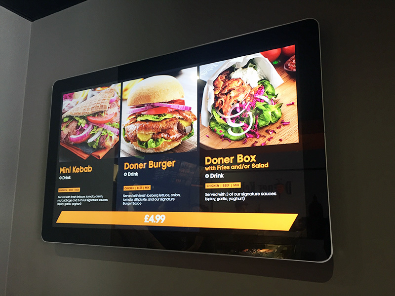 digital signage screen cinema