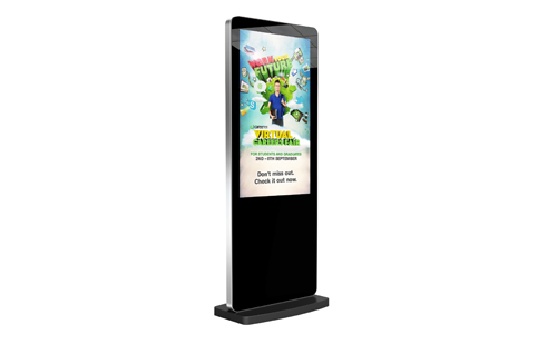 Digital Signage Screen freestanding posters