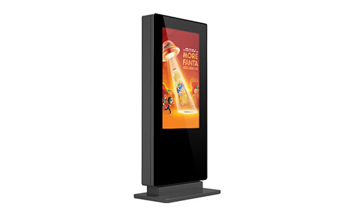 Outdoor Freestanding Digital Posters Digital Signage Screens