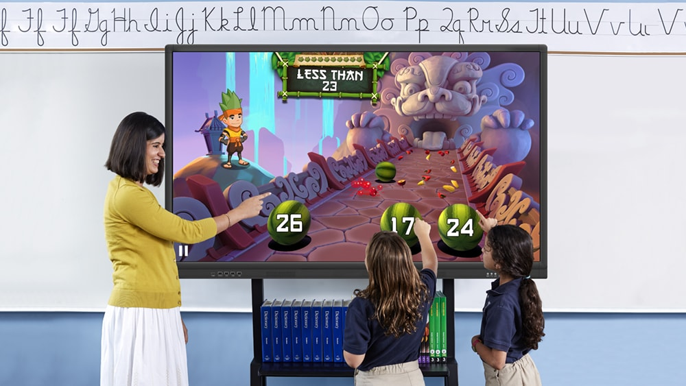 Interactive Multi Touch Screen Whiteboard for Education