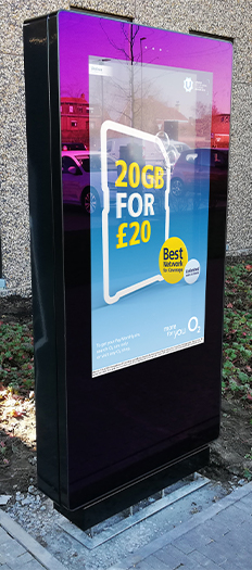 Outdoor Freestanding Digital Posters