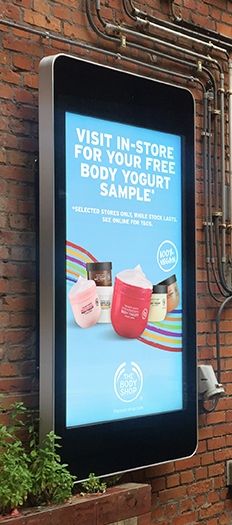 Outdoor Digital Advertising Displays