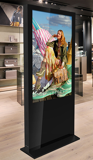 Superslim Freestanding Double-Sided Digital Posters