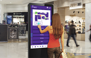 Infrared Freestanding Touch Screen Poster