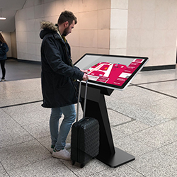 PCAP Touch Screen Kiosk With Dual OS