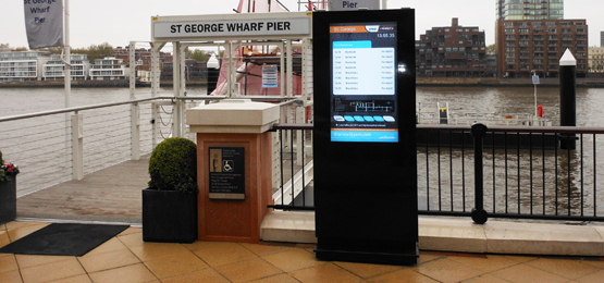 custom bespoke digital signage freestanding