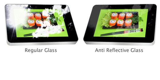 Anti-Reflective Glass outdoor