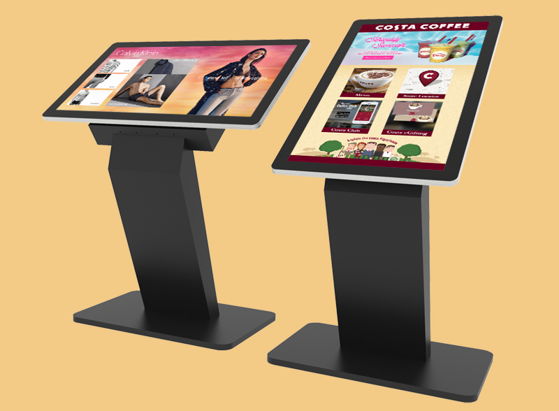 digital signage touch screen kiosk
