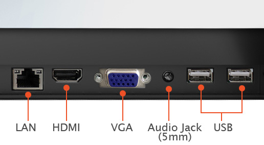 audio visual inputs