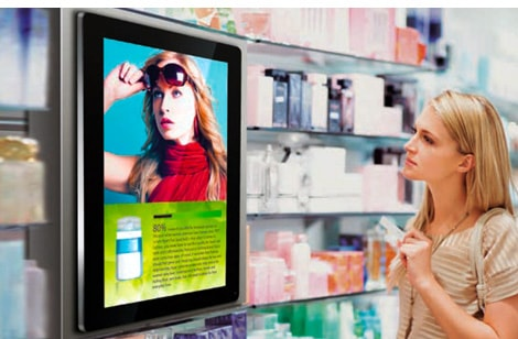 digital signage commerical grade public spaces