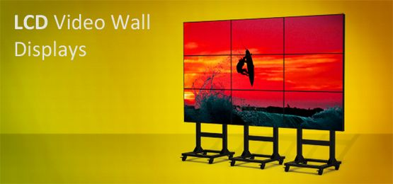 lcd video wall display super ultra narrow bezel